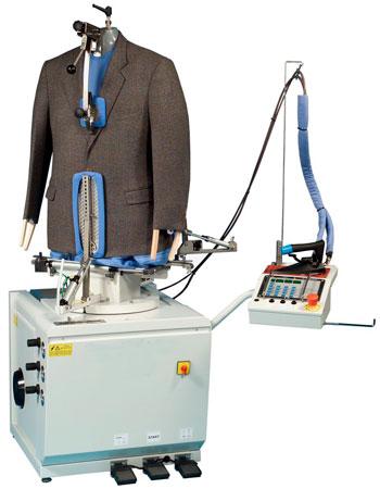 Máquina de planchado y acabado Electrolux Professional para chaquetas