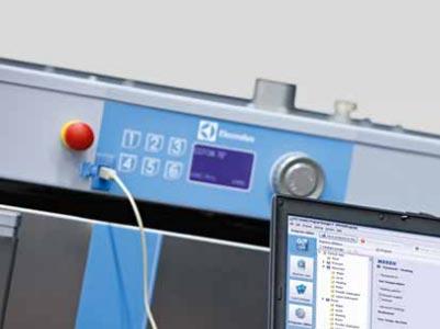Software Electrolux Professional para el control de los equipos